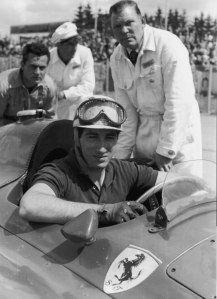 1956 Alfonso de Portago (E).Scuderia Ferrari.