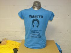 One of my favourite images from Once, the Snow White Wanted poster is perfectly recreated on this high quality soft blue heather tee. abc Once Upon a Time OUaT