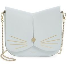 Women's Ted Baker London Cat Leather Crossbody Bag