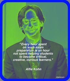 alfie kohn homework myth summary