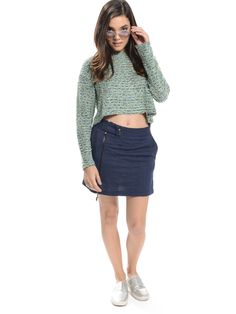 Shop ModDeals.com for Light Blue Textured Crop Sweater in our cheap trendy Tops category. Find trendy cheap clothing for women, discount shoes, jewelry sales, perfume & cheap accessories for women.