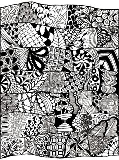 coloring-adult-zen-anti-stress-abstract-to-print, From the gallery : Zen & Anti Stress