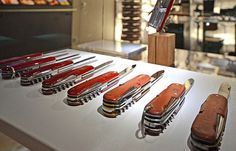 Make your own swiss army knife in Switzerland
