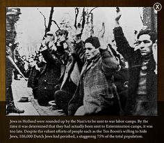 This is a translation from Dutch: Be Extruded Jews on the Jonas Daniel Meijer Square in Amsterdam. On February 1941 Amsterdam strike in protest that their Jewish fellow citizens were taken away by the Germans from their neighborhoods and brought to camps. Camping Set Up, Corrie Ten Boom, Jewish Men, The Third Reich, Persecution, World History, Jewish History, History Facts, Anne Frank