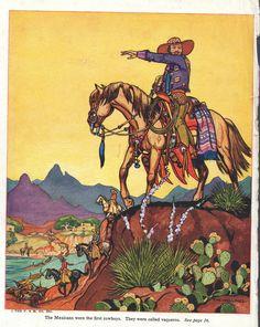 Mexican cowboy print western decor, cowboy and indian decor, wild west Please visit our website @ www.steampunkvapemod.com