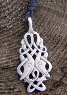 Celtic Medallions - Celtic Birds Medallion