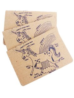 Magical Unicorn Pocket Notebook, $8 - Stocking Stuffer Gifts - Seventeen