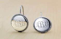 Check out this deal at Groopdealz! Get these 18-Karat White Gold Personalized Earrings for only $12.99! Normally $99.99! These earrings feature a comfortable fit, so you can wear them all day! Just specify the three initials you want on the earrings at checkout! Grab this deal now! Check out all our Online Deals!