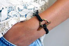 WOOD bracelet #bracelet #tutorial #recycle #cuero #DIY #pulsera #natural #macramé #manualidades