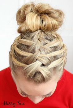 cool french braids