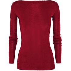 Donna Karan Cashmere and silk-blend sweater found on Polyvore