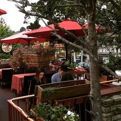 Enjoy a summer day or evening with an outdoor dining experience in Carmel at The Tree House Cafe. Jusy lovely and yes yummy! #VisitCarmel #Summer #CarmelByTheSea #LovelyEvening #Monterey #Dining #Destination #SeeMonterey #carmellocals #montereybaylocals - posted by WhatsUpMonterey https://www.instagram.com/whatsupmonterey - See more of Carmel By The Sea, CA at http://carmellocals.com