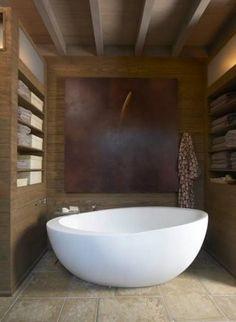Bathrooms. Cortenstaal