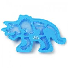 Add some prehistoric chills to your drink with this triceratops fossil ice tray! Silicone material for easy removal. Dinosaur Bones, You Are The World, Ice Age, Cool Inventions, Jello, Prehistoric, Ice Tray, Gifts For Kids, Gadgets