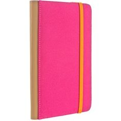 Pink Canvas Trip Jacket with Orange Elastic Band for Amazon Kindle Touch  M-Edge AK4-TR1-C-PK  PRICE DROP!  Free Shipping