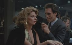 """RAW DEAL (1986)...... Monique (Kathryn Harrold) to Max Keller (Robert Davi).....""""The only way you'll ever end up lying next to me is if we're run down by the same cab."""" Great line and a great Arnold Schwarzenegger flick"""