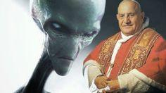REVELAÇÃO: Papa João XXIII Falou Vinte Minutos Com um Alienígena!!!