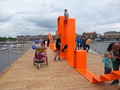 Copenhagen's Kalvebod Waves boardwalk