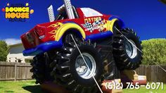 Austin Bounce House Rentals - Introducing the Monster Truck Combo