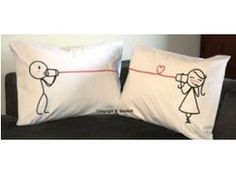 Say I love you Pillowcase $36