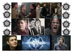 """""""Supernatural"""" by catslove on Polyvore featuring art"""