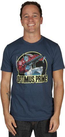 Action Optimus Prime Shirt