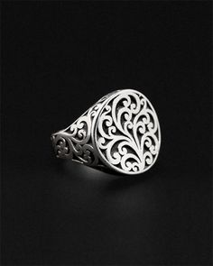 Lois Hill Silver Ring