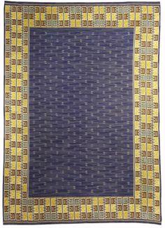 Vintage Rugs: Vintage Rug in red color Swedish Flat weave for Scandinavian scandi interior decor, Scandinavian living room