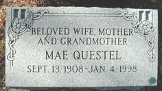 Mae Questel (1908 - 1998) She was the voice of the cartoon characters Betty Boop and Olive Oyl