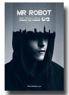 Luv this show #MrRobot #MrRobotPoster #MrRobotTvShow #RamiMalek poster available here