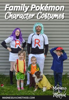 Looking for an easy costume for multiple people? Check out these family Pokémon character costumes with easy to find items and simple DIYs! Easy Costumes, Character Costumes, Madness, Diys, Posts, Simple, Blog, Check, Role Play Outfits