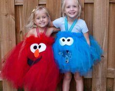 Elmo Inspired Tutu Dress for Birthdays Halloween by shoppe3130