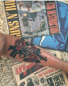 Guns N' Rose Tattoo