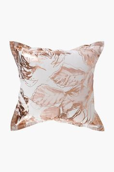 Add a luxurious feel to your home with this stunning, feather filled scatter cushion boasting a trendy rose print and metallic finish. Cushions, Rose Print, Decor Gifts, Living Room, Scatter Cushions, Metal, Shopping, Home Decor Shops, Down Feather