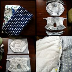 DIY Baby Swing Seat Cover
