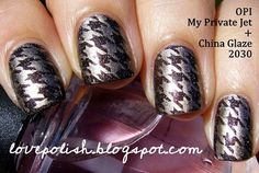 Ordered some Konad tools today. I want houndstooth nails!!