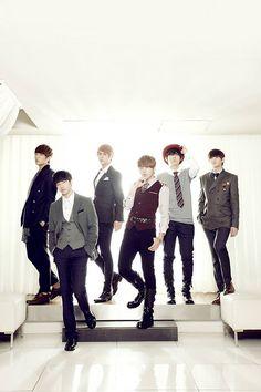 Doojoon, Gikwang, Dongwoon, Junhyung, Hyunseung, Yoseob // #BEAST