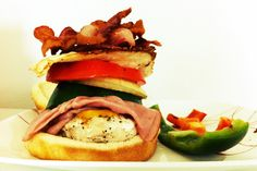 day 40: chivito for lunch