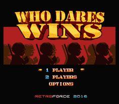 Who Dares Wins para MSX 2
