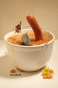 I like this image as it's humorous, and it's an unusual approach at still life, but it's great