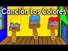 La Cancion de los Colores para niños - Rondas Infantiles - Videos Educativos en español - YouTube