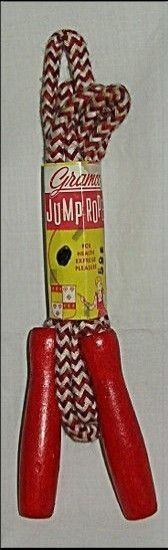 Getting a new jump rope was exciting!