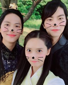 SNSD YoonA shared a cute photo with Im Siwan and Hong JongHyun Yoona Drama, Yoona Snsd, Lee Seo Yeon, Kim Tae Yeon, Im Siwan, Korean Drama 2017, Korean Dramas, Hong Jong Hyun, Young Kim