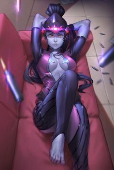 Widowmaker by sinceillust Overwatch