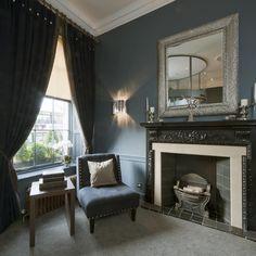 The Roxburghe Hotel, Edinburgh, Georgian Building, Blue interior, Stylish Interior, Occa Design, Interior Design, Hotel Design