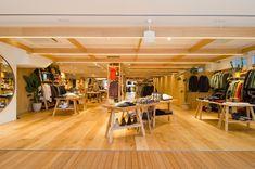 開放感抜群で気持ちのいい空間。店舗面積約290㎡は本国のブルックリン本店、モントーク店よりも広い。