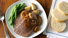Beef roast becomes even better thanks to tasty seasonings and slow cooking.