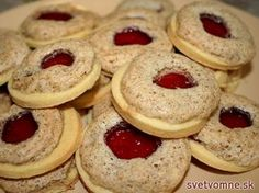 recipe for fine biscuits with jam and walnut snow. They are as sacred . A recipe for fine biscuits with jam and walnut snow. They are as sacred .,A recipe for fine biscuits with jam and walnut snow. They are as sacred . Biscuits, Cookie Recipes, Dessert Recipes, Cinnamon Cream Cheese Frosting, Pumpkin Spice Cupcakes, Food Cakes, Fall Desserts, Ice Cream Recipes, Christmas Cookies