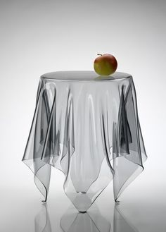 ghost sidetable #ghost #sidetable #interiordesign #trasparent #spinzi #table #glass #glasstable