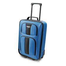 "Travel Select® 20"" Rolling Carry-on [Red/Blue]"